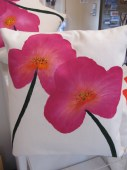 Pink Floral Cushion
